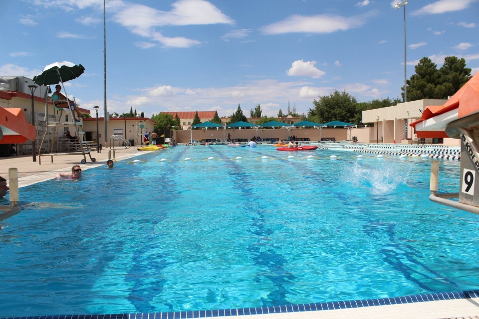 Aquatic center recreational sports new mexico state - Valley center swimming pool hours ...
